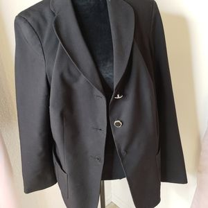 Plus size Black blazer